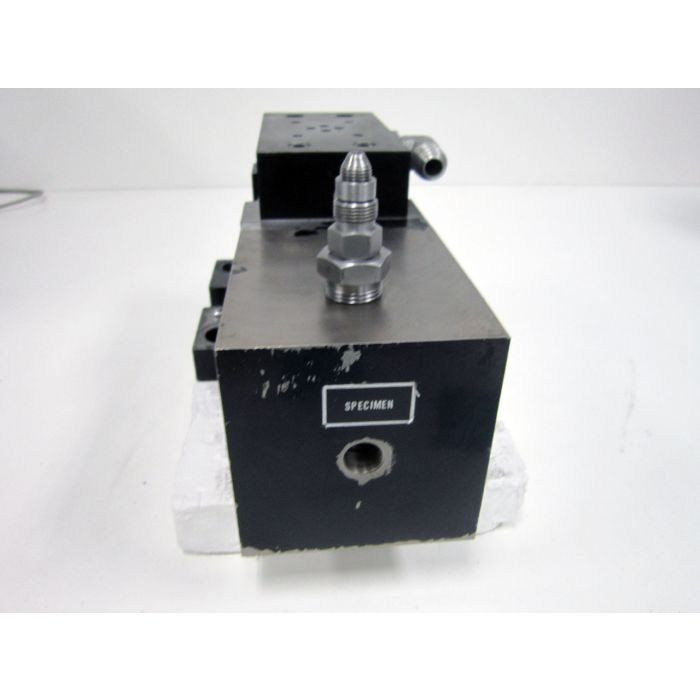 MTS 286 02 PRESSURE INTENSIFIER WITH MILWAUKEE CYLINDER CORP CX1982 1 5