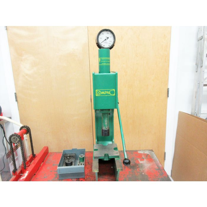 Compac Dp 10 Dp10 Ten Ton Hydraulic C Frame Bench Press Punch Stroke 180 M M