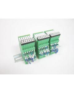 21X PHOENIX CONTACT PLC-BSC-24DC/21 TERMINAL BLOCK