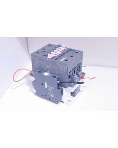 ABB AE75-30 CONTACTOR 24 VDC COIL 3 POLE WITH CAL5-11 & CDL5-01 AND RT5 32