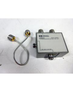 HP 41952A 100 KHZ - 500 MHZ TRANSMISSION REFLECTION TEST SET ~ AGILENT KEYSIGHT
