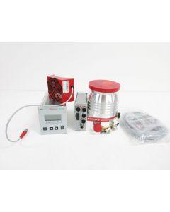 PFEIFFER HIPACE 300 VACUUM TURBO PUMP DN100 ISO-K W/ TC 400 & DCU 310 TURBOPUMP