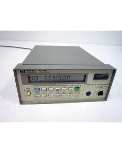 HP AGILENT 437B RF POWER METER RF 40GHZ GPIB 003