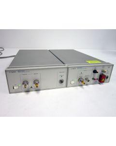 HP AGILENT 83433A & 83434A 10 Gb/s LIGHTWAVE TRANSMITTER & RECEIVER 1554.13 NM