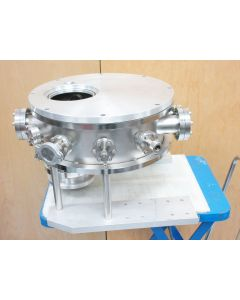 "VACUUM CHAMBER 15.5"" HIGH - STAINLESS STEEL ALUMINUM CF-STYLE FLANGE"