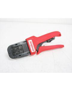 MOLEX 638118800C CRIMPING HAND TOOL 24 - 30 AWG & LOCATOR CRIMP 63811-8800C