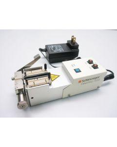SCHLEUNIGER FIBERSTRIP 7030 STRIPPING MACHINE HOT STRIPPER FIBER OPTIC CABLE - A
