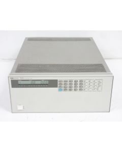 HP 6050A SYSTEM DC ELECTRONIC LOAD & 60507B 150V 60A 500W MODULE