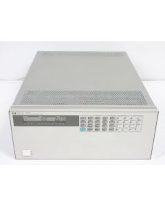 HP 6050A SYSTEM DC ELECTRONIC LOAD & 60503B 240V 10A 250W MODULE