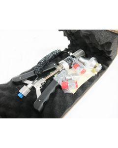 AMETEK T-970 PNEUMATIC HAND PUMP (0 TO 580 PSI / 40 BAR) HOSE & FITTINGS JOFRA