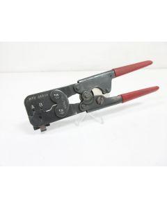 MOLEX HTR2445A HAND CRIMP TOOL ~ HTR-2445A 11-01-0026 24 -18 AWG WITH LOCATOR