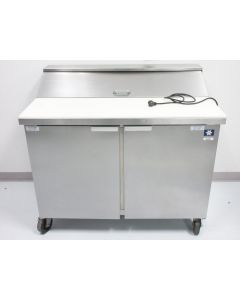 """KOOLAIRE KP-10-12 45"""" REFRIGERATED PREP TABLE WITH LID 2 DOORS ~ REFRIGERATOR"""