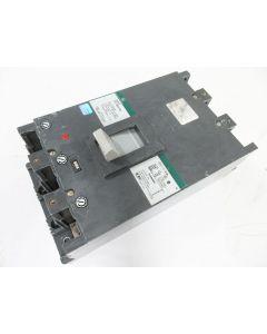 GE INDUSTRIAL CIRCUIT BREAKER 3P 800A TKM836F000 & TKMA836T600 600A TRIP UNIT