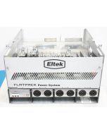 """ELTEK FLATPACK 19"""" SYSTEM TWO SHELF INTEGRATED POWER 242100.118 241115.001 5.4kW"""